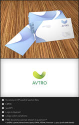 Free Logo Template - Avtro by genotas