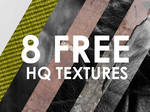 8 high quality textures for free!