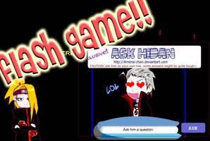 Ask Hidan:Flash game:fixed by Amena-chan