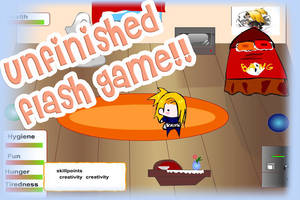 Unfinished Akatsuki flash game by Amena-chan