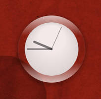 'Air' Clock for Conky