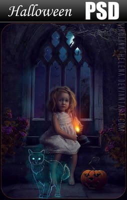 Halloween 2012 PSD file