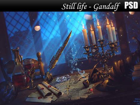 Still life - Gandalf PSD