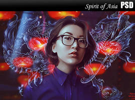 Spirit of Asia PSD