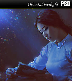Oriental twilight PSD