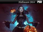 Halloween 2014 PSD by Nikulina-Helena