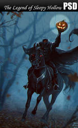 The Legend of Sleepy Hollow PSD