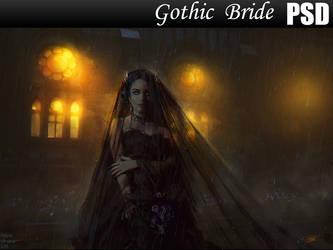 Gothic Bride PSD