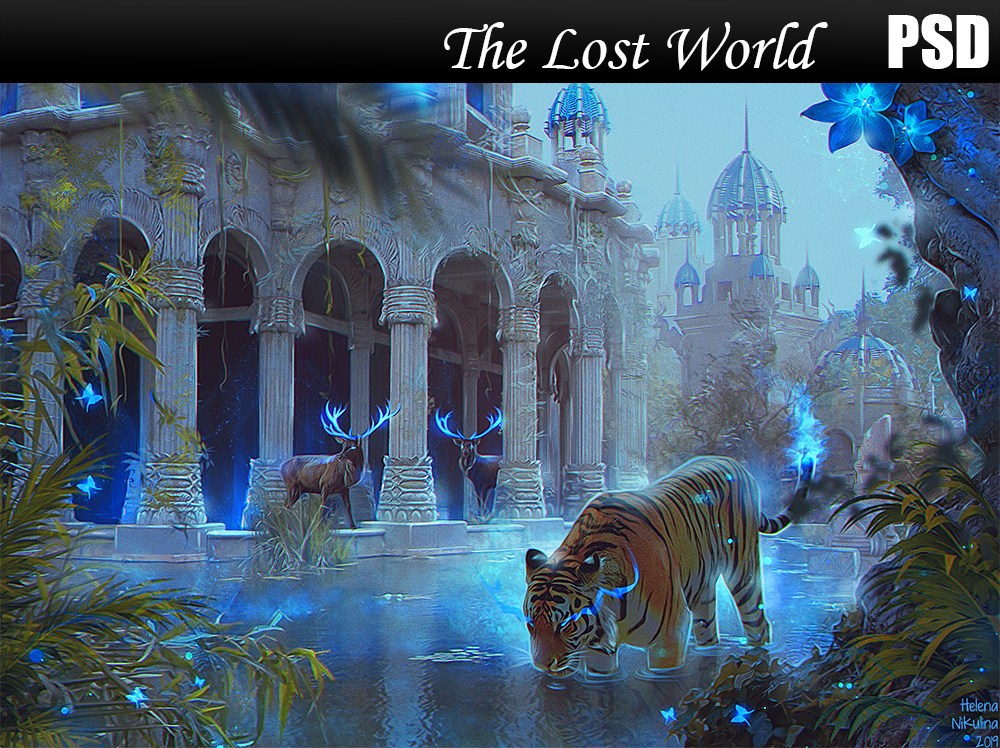 The Lost World PSD