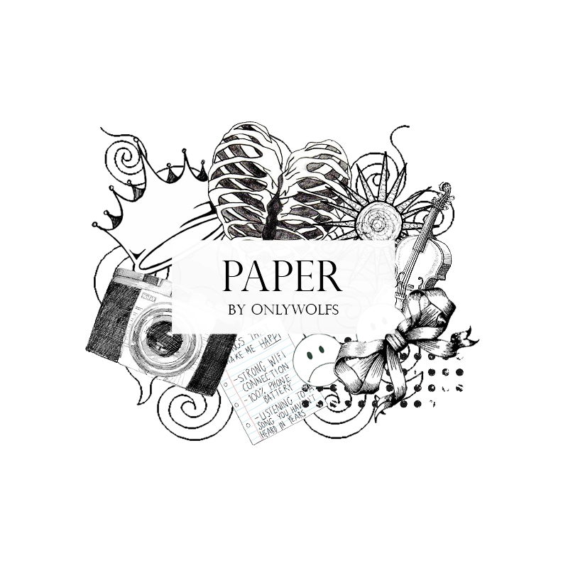 Paper / Papel [Pack #9] By OnlyWolfs On DeviantArt