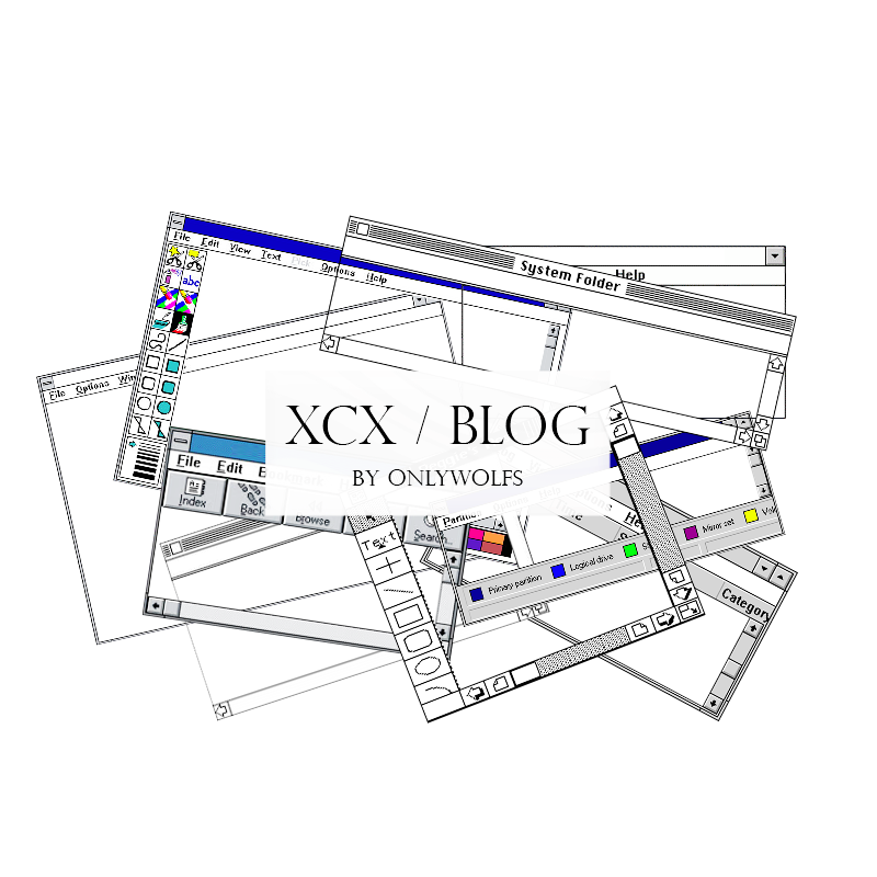 XCX / Blog [Pack #13]