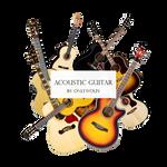Acoustic Guitar / Guitaras Acusticas [Pack #14]