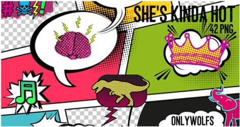 She's Kinda Hot (Pngs) [Pack #21]