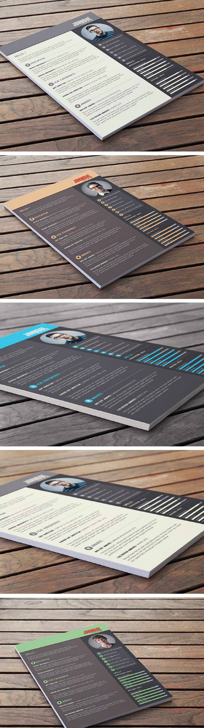 Free Resume / CV Template Download !