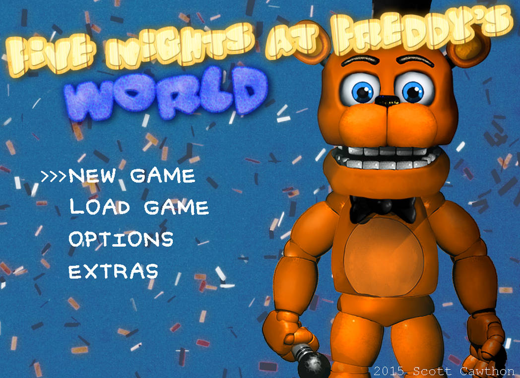Fnaf World Demo