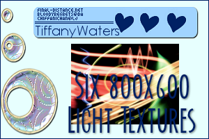 Six Light Textures by artbytiffany