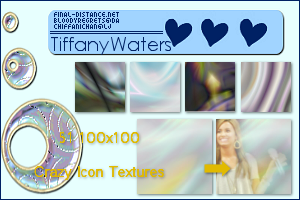 FiftyOne 100x100 Crazy Texture by artbytiffany