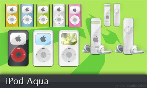 iPod Aqua