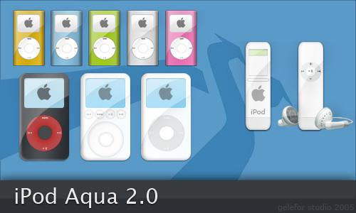 iPod Aqua 2.0 - Mac
