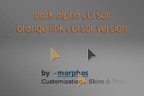 Morphos Dark Alpha Orange remix by tritonbee