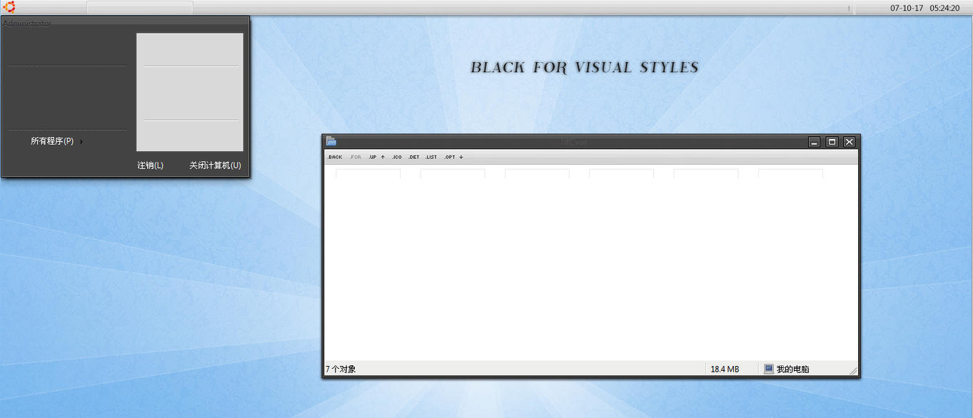 Black Visualstyle by Vichair