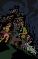 Scooby Doo Flats by tamariskuk