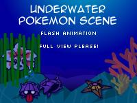 Pokemon Underwater Scene by WarBandit