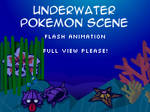 Pokemon Underwater Scene