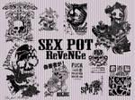 SEX POT ReVeNGe brushes
