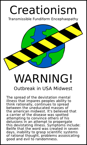 Creationism Outbreak by doctormo