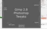 Gimp 2.8 Photoshop Tweaks by doctormo