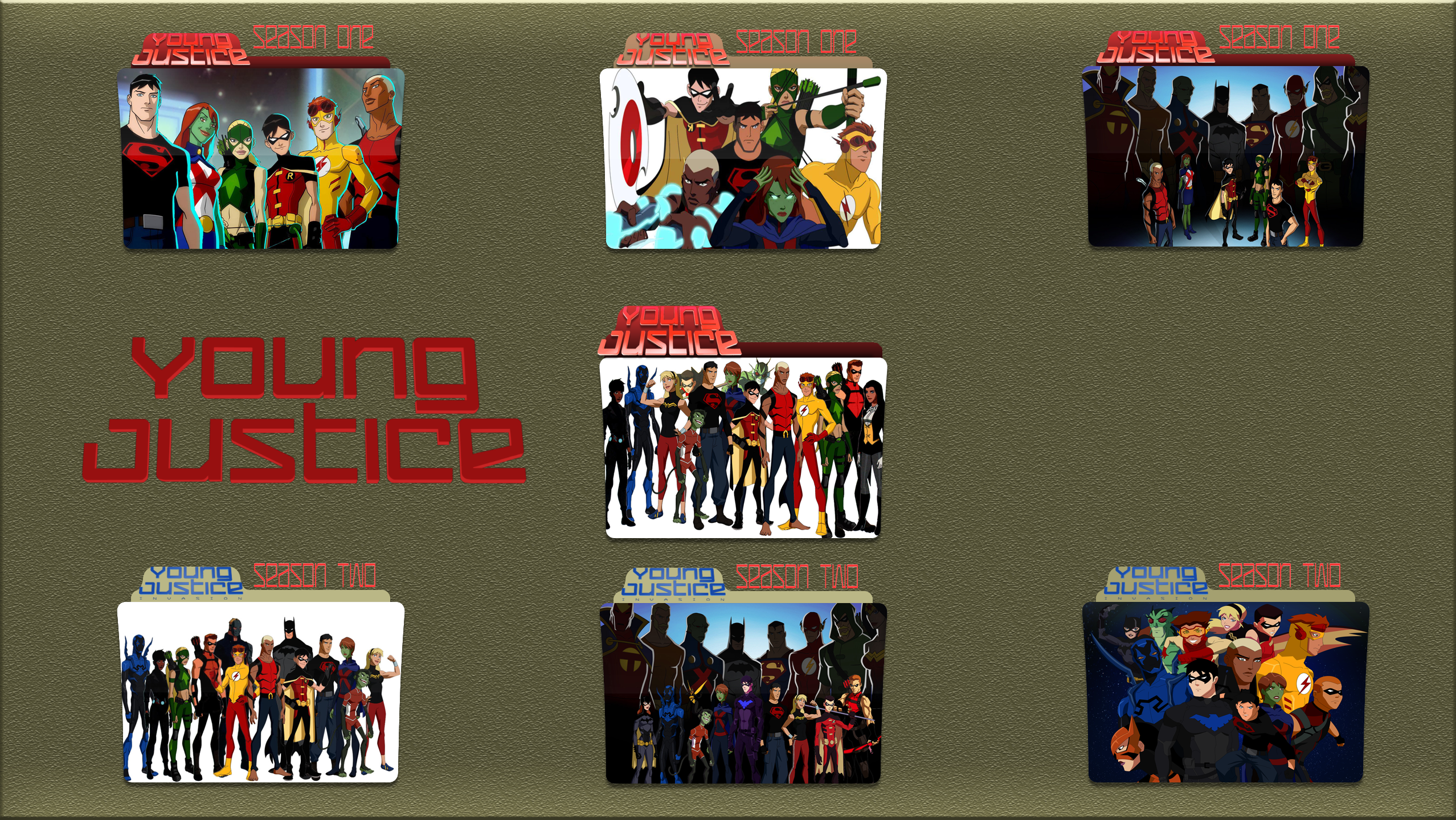 Icon Young Justice Young Justice complete...
