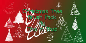 Christmas Tree Brush Pack