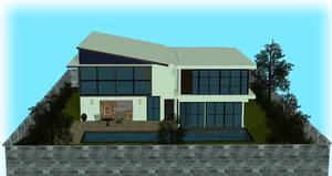 Modern House XPS/Xnalara by diegoforfun
