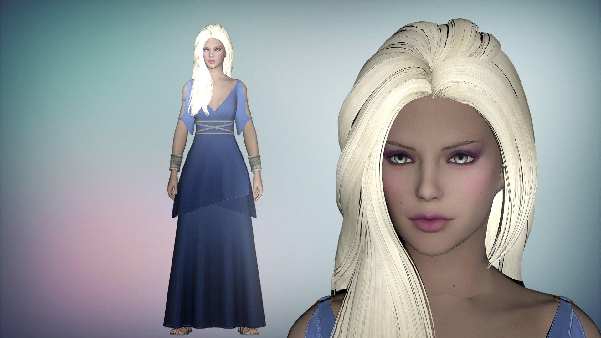 Skyrim Melaine The Frost Queen by diegoforfun