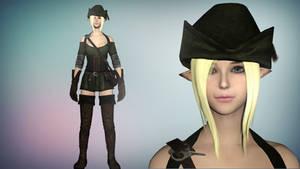 Skyrim Evelyn The Elf by diegoforfun