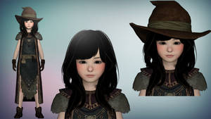 Skyrim Herkrica The Young Witch XPS/Xnalara by diegoforfun