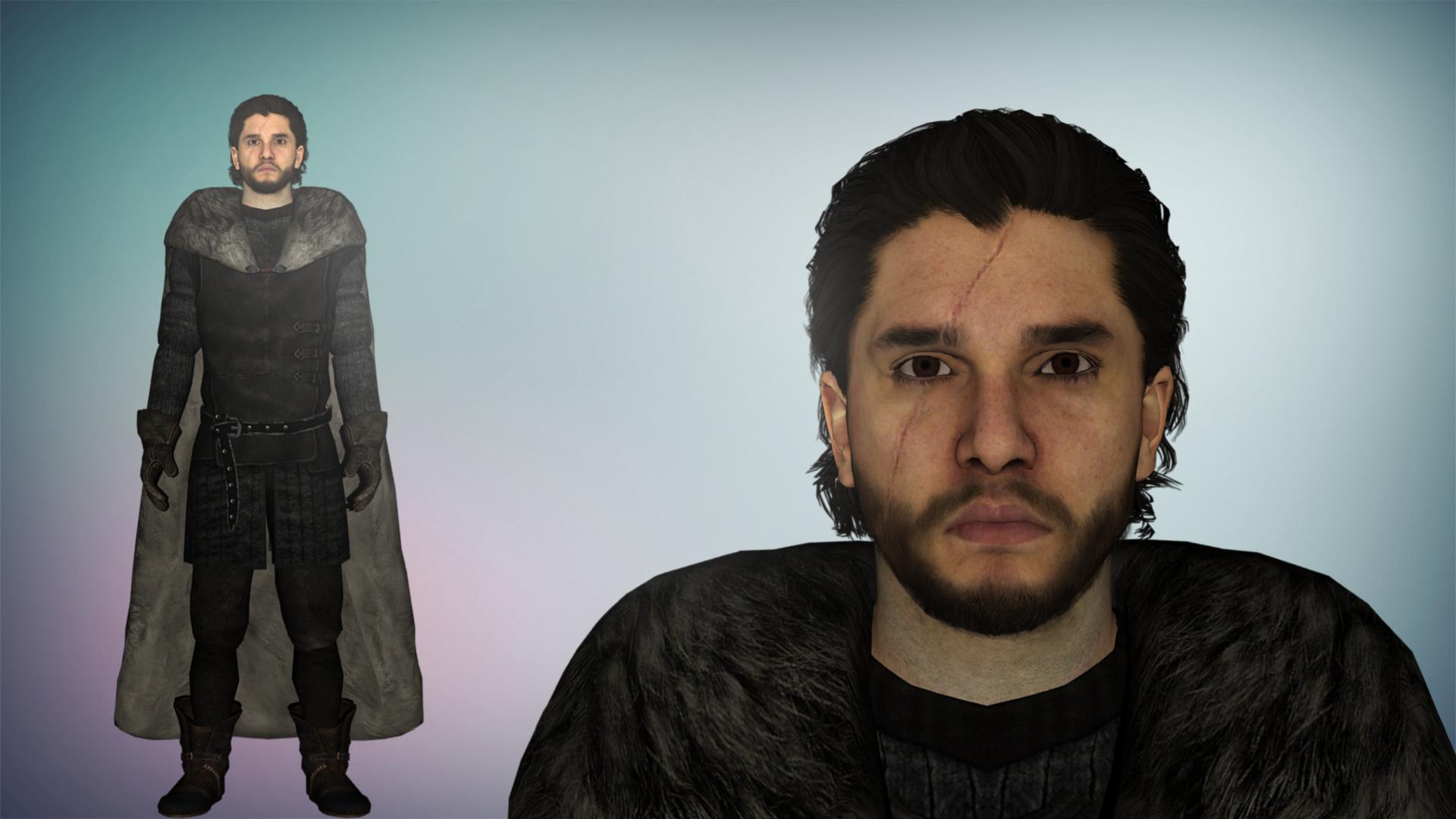 Got Jon Snow Xps Xnalara By Diegoforfun On Deviantart