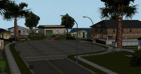 XPS/Xnalara GTA San Andreas Grove Street by diegoforfun