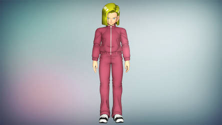 DVXV2 Android 18 DBS Tracksuit