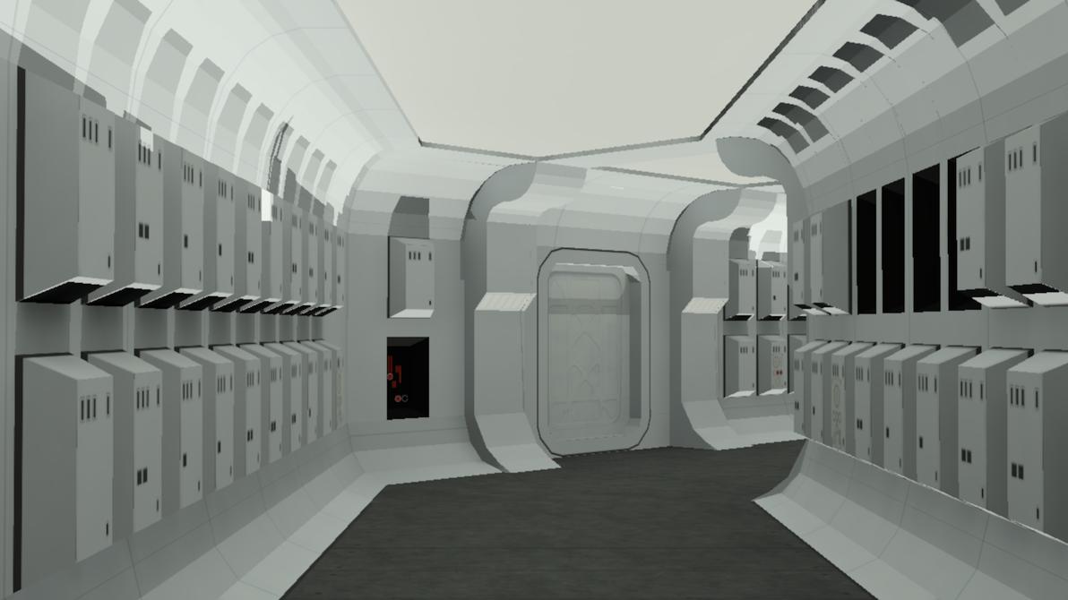 (Star Wars)Blockade Runner Map by diegoforfun