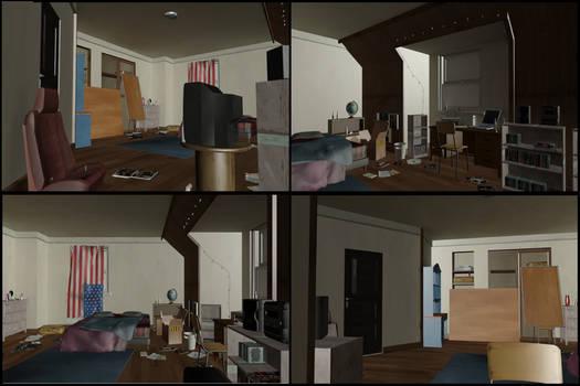 XPS/Xnalara Life is Strange Chloe's Room
