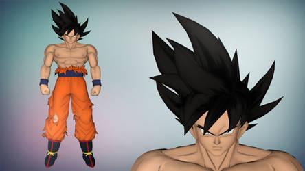 XPS/Xnalara DBXV2 Goku Limit Breaker by diegoforfun