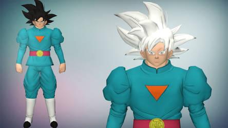 XPS/Xnalara DBXV2 Goku Grand Priest