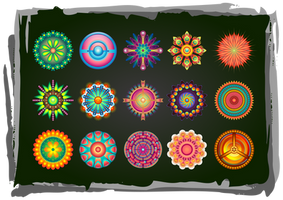 Design Elements Set of 15 by Viscious-Speed