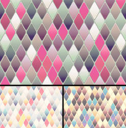 Diamond-Shaped Tiles Bg 2nd Set by Viscious-Speed