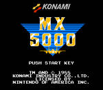MX5000 - NES Title Screen