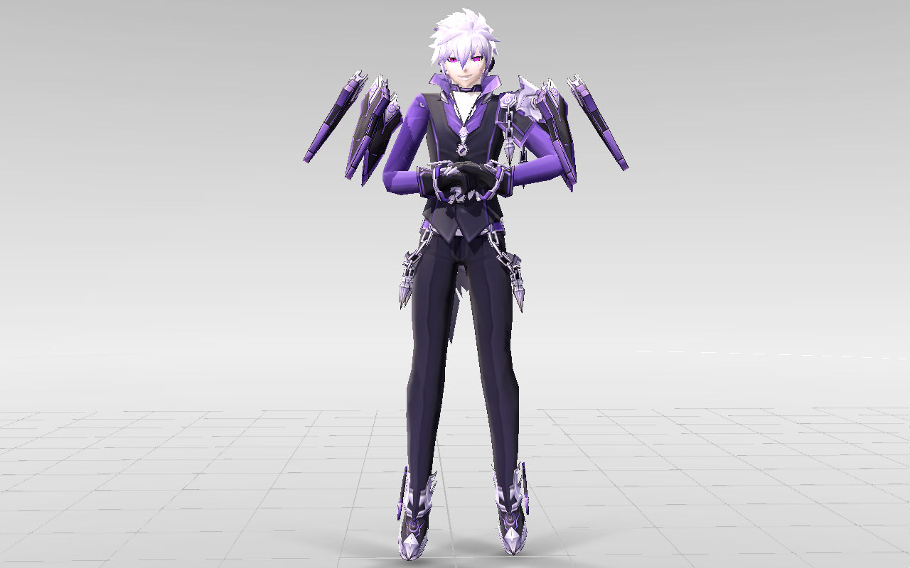 Mmd elsword add lunatic psyker download by for Mobel 3d download