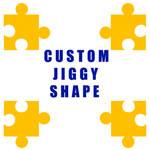 Jiggy Custom Shape