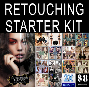 RETOUCHING STARTER KIT- MODARETOUCH by ModaRetouch-Graphics